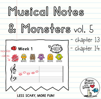 Musical Notes & Monsters ONE (Vol. 5)