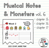 Musical Notes & Monsters Volume 6