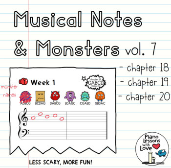 Musical Notes & Monsters Volume 7 (final volume)