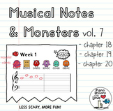 Musical Notes & Monsters ONE (Vol. 7)