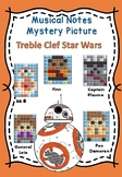 Musical Notes Mystery Picture (TREBLE CLEF) Star Wars 2