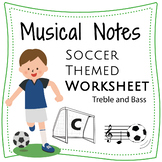 Music Notes Worksheets