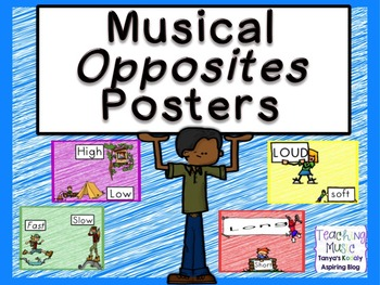 Musical Opposites Posters