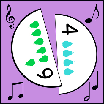Making 10 Game (Musical Pears)