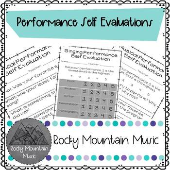 Musical Performance Evaluations