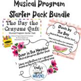 Musical Program Starter Packs Bundle