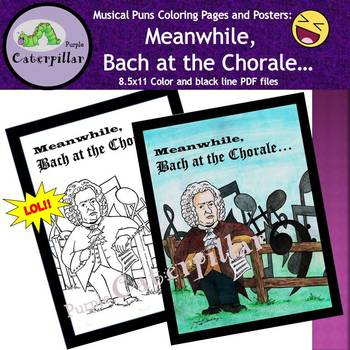 Composers Coloring Pages Teaching Resources | Teachers Pay Teachers