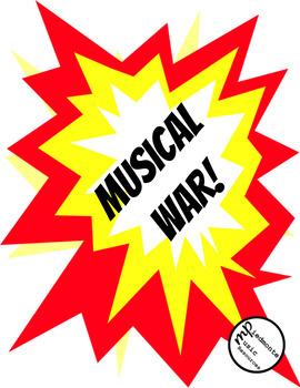 Musical Rhythm Wars!