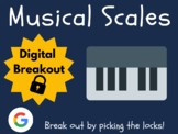 Musical Scales - Digital Breakout! (Distance Learning, Goo