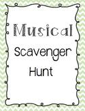 Musical Scavenger Hunt