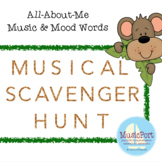 Musical Scavenger Hunt