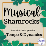 Musical Shamrocks   A St. Patrick's Day Music Game for Dynamics and Tempo