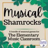 Musical Shamrocks   St. Patrick's Day Music Games