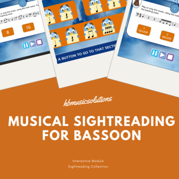 Musical Sight-Reading Number 1 Bassoon