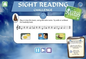 Musical Sight-Reading Number 1 Flute, Oboe And Saxophone