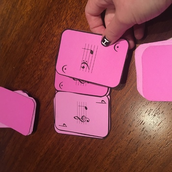 Musical Snap! Card Game - Treble & Bass Clef Notes