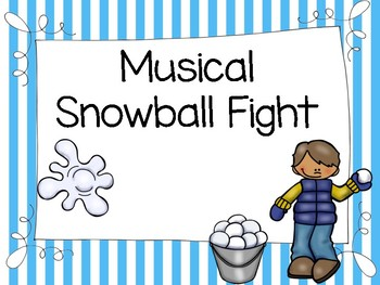 Musical Snowball Fight