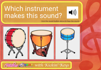 Musical Sounds: Which Instrument is it? Digital Boom Cards