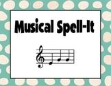 Musical Spell-It