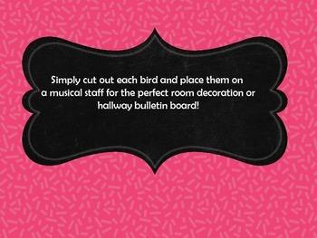 Musical Staff Bulletin Board