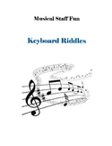 Musical Staff Fun Keyboard Riddles - Learning the Notes of
