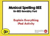 Musical Staff Spelling Bee + Math for iPad only