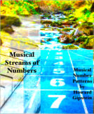 Musical Streams of Numbers