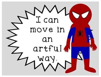 Musical Superheroes Bulletin Board