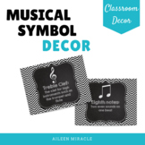 Musical Symbol Decor