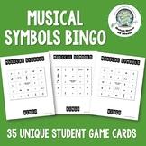 Musical Symbols Bingo