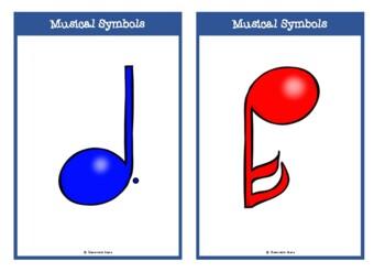Musical Symbols Cards