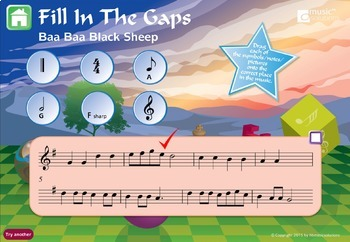 Musical Symbols Interactive Music Games