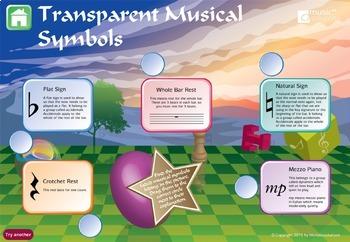 Musical Symbols Interactive Music Games