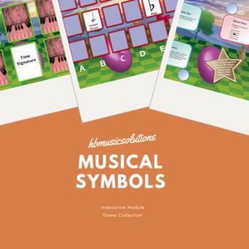 Musical Symbols Interactive Games
