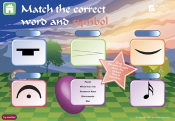 Musical Symbols US Version Interactive Music Games