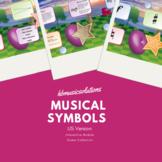 Musical Symbols US Version Interactive Music Games