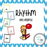Rhythm - uno inspired