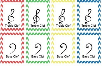 Musical Symbols - uno inspired