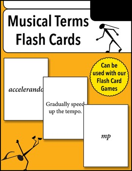 Musical Terms Flash Cards
