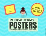 Musical Terms Posters - Music Dynamics Edition