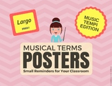 Musical Terms Posters - Music Tempi Edition