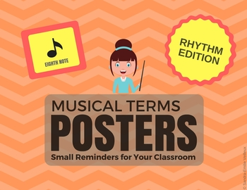 Musical Terms Posters - Rhythm Edition