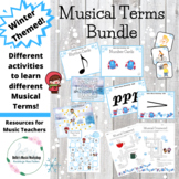 Musical Terms Winter Themed Bundle