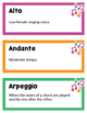 Musical Terms Word Wall