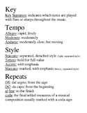 Musical Terms and Definitions