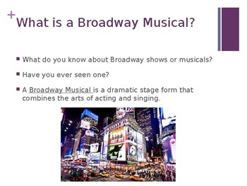 Musical Theater Introduction