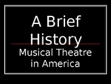 Musical Theatre History Powerpoint