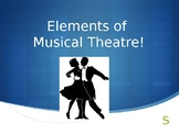 Musical Theatre! Introduce the structure of musicals - wor
