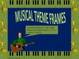Musical Theme Frames