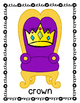 Musical Thrones:  A Rhyming Game (In Color or Blackline)
